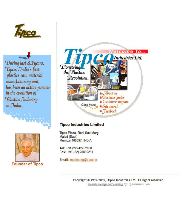 Tipco Industries Ltd.